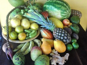 Fresh, juicy organic tropical fruits daily!
