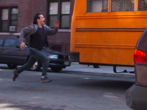 Sprinting after the last bus